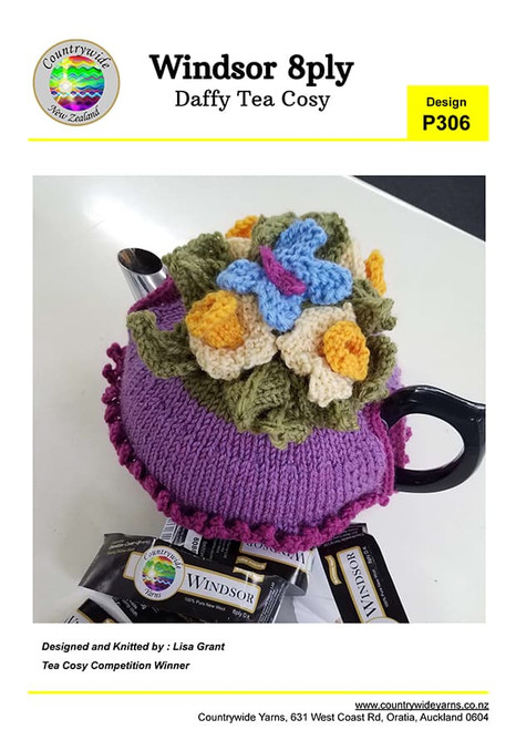 CountryWide: Daffy Tea cosy P306