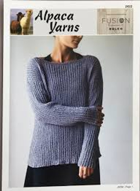 Alpaca Yarns Summer Sweater 2422