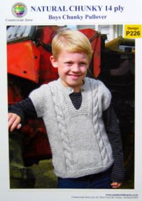 Countrywide: Boys Chunky Vest P226