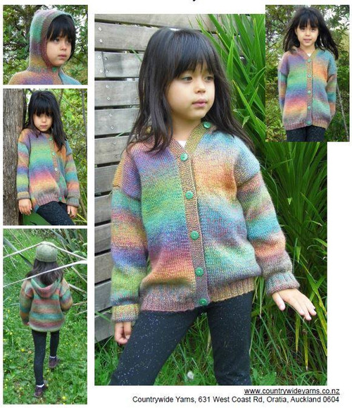 Countrywide: Mandala Child's Hoodie P310