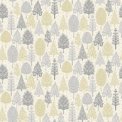 Christmas Fabric: Scandi Trees