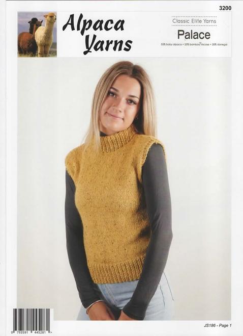 Alpaca yarns: Palace - Easy Vest