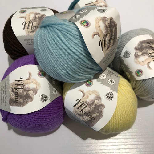 Countrywide: Merino Pure 8ply