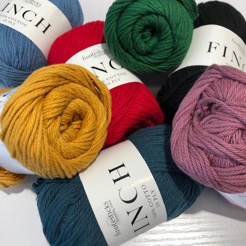 Tex Yarns: Finch - Cotton