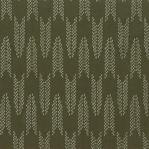 Japanese Fabric: Noki - Green
