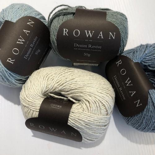 Rowan Yarns: Denim Revive