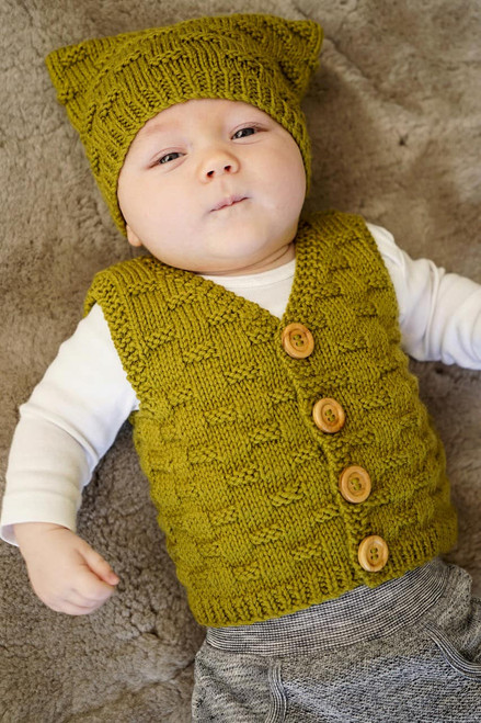 Baby Cakes: Theodore Vest and Hat