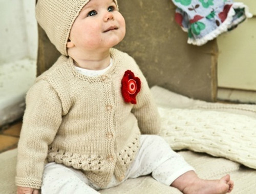 Baby Cakes: Indiana Cardi and Hat.