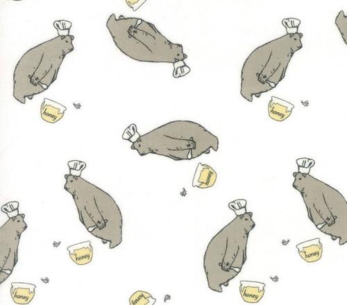 Beige/Gey: Darling Little Dickens - Honey pot Bear