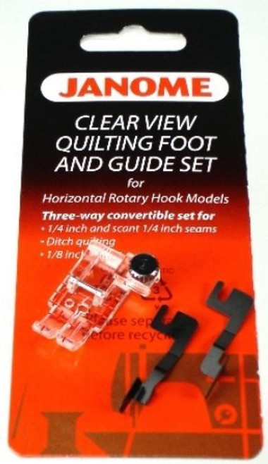 Clear View Quilting foot and guides