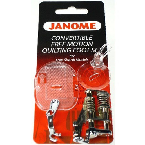 Janome: Convertible free motion quilting 7m (Low shank)