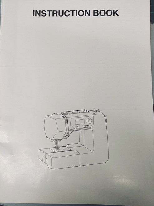 Instruction Manual: Janome 2160QDC