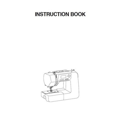 Instruction Manual: Janome 3160QDC