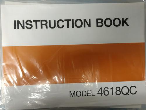 Instruction Manual: Janome 4618QC