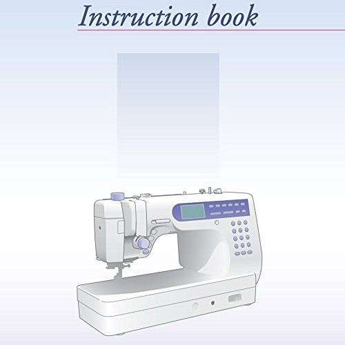 Instruction Manual: Janome MC6500P