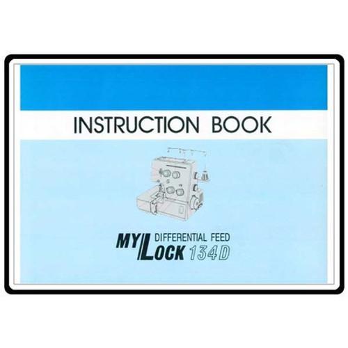 Instruction Manual: Janome Overlocker 134D