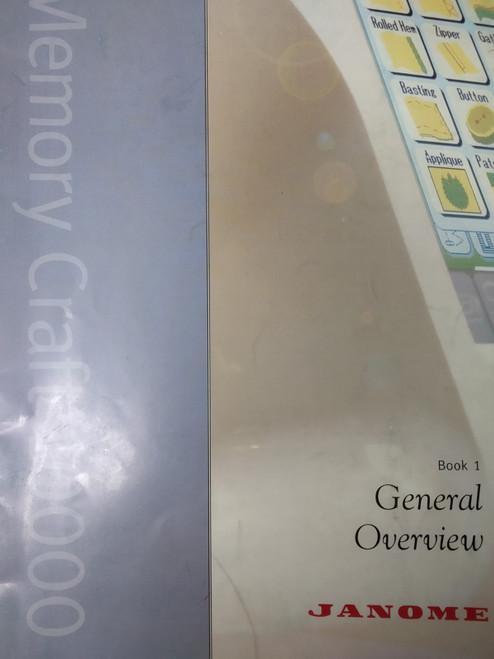 Instruction manual: MC10000 Book 1