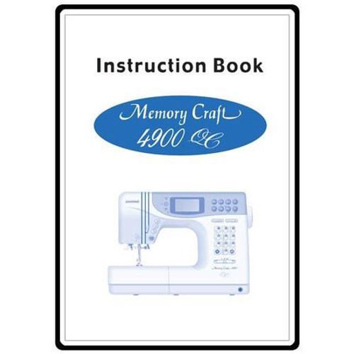 Instruction Manual: MC4900QC