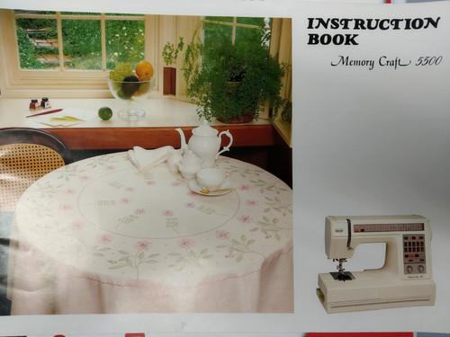 Instruction Manual: MC5500