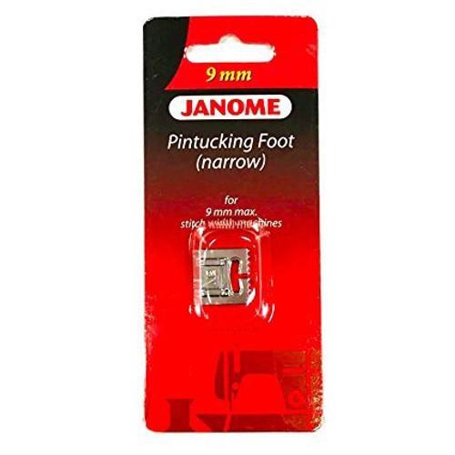 Pintucking foot narrow