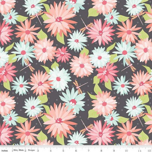 Dress fabric: Paper Daises