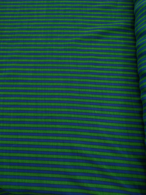 Dress Fabric: Teal Stripe