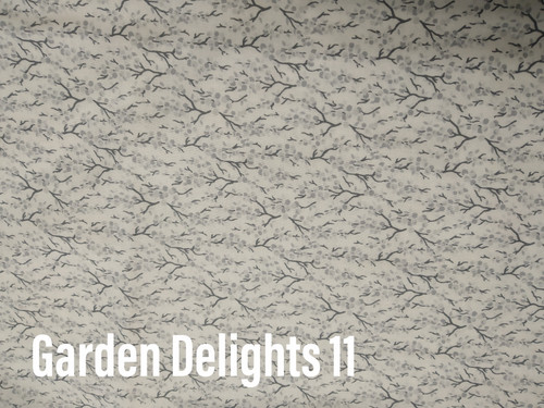 Printed Cottons Garden Delights11 $32.00pm