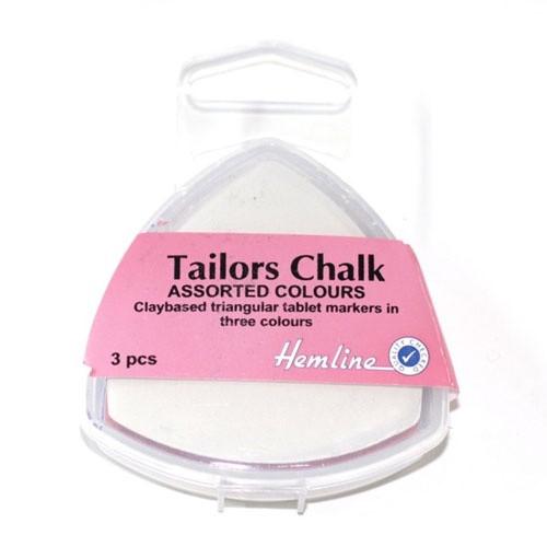 Hemline Tailors chalk 3pack