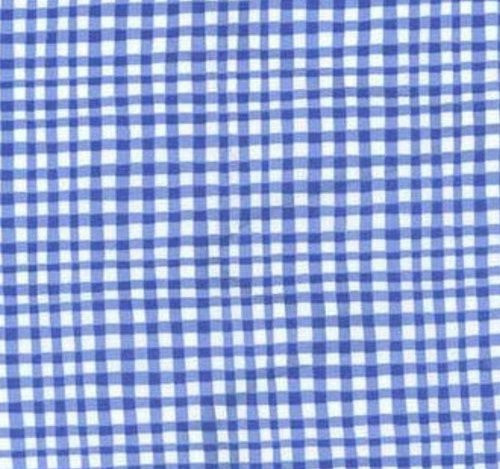 Blues: Gingham Play Cobalt blue