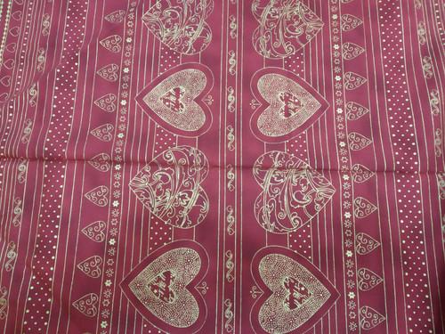 Christmas Fabric Christmas Greetings Stof