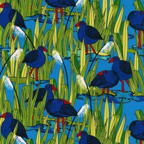 Kiwiana: Wetlands Pukeko