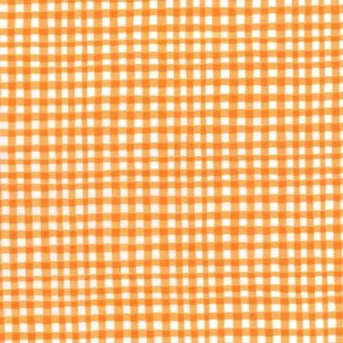 Orange/Red: Gingham Play - Michael Miller