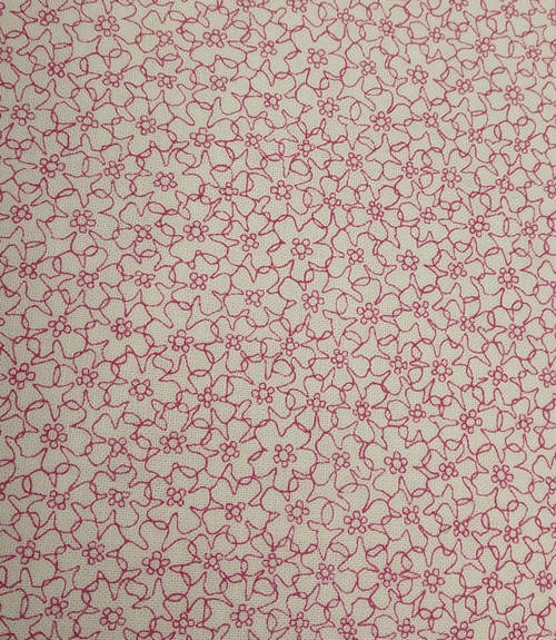 Pink/Coral:  Quilters basics by Stof