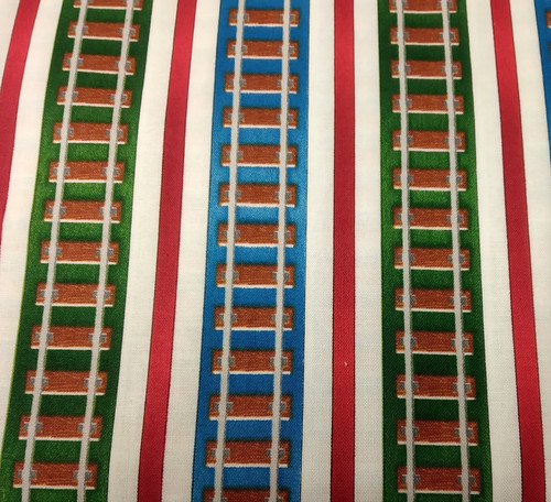 Printed Cotton: Thomas Tracks