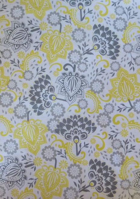 Yellow/Mustard Riley Blake C3150 Blooming Blooms
