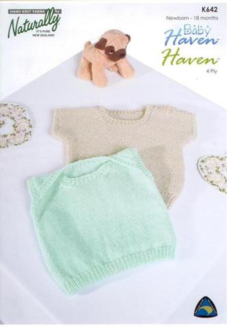 Naturally Baby Haven Singlet K642
