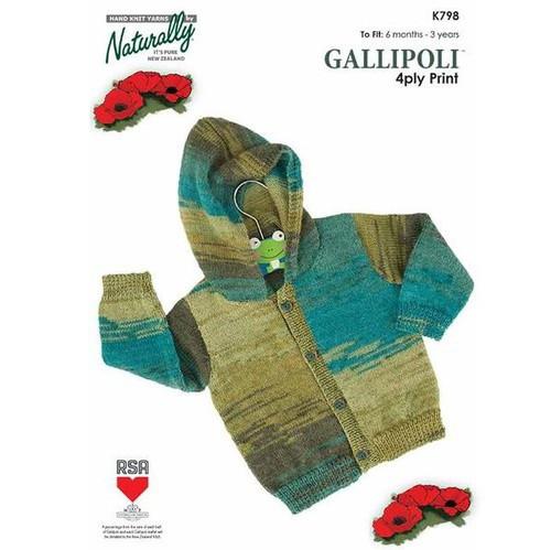 Naturally Gallipoli: Hooded Jacket