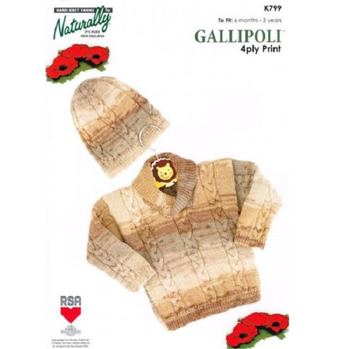 Naturally Gallipoli: Sweater and Hat (Cable and Shawl)