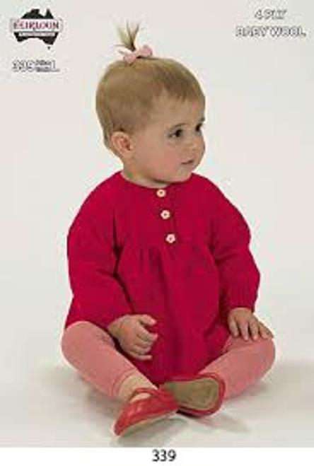 Heirloom: Simple baby Cardigan HL339