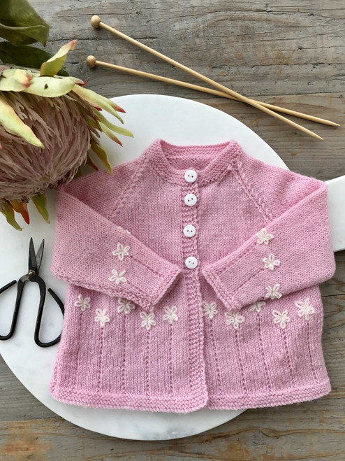 Touch Yarns: Garden party Cardy 088