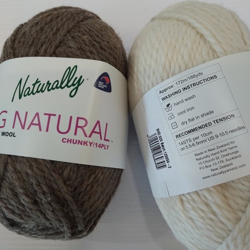 Naturally: Big Natural 14ply