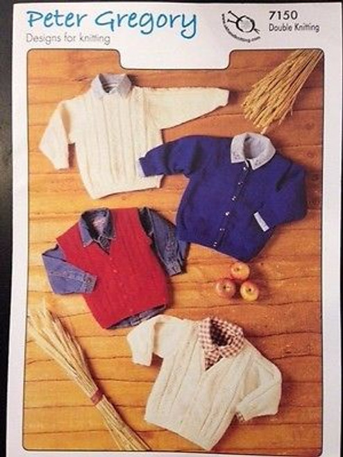 Peter Gregory: Sweater, Cardigan and Waistcoat