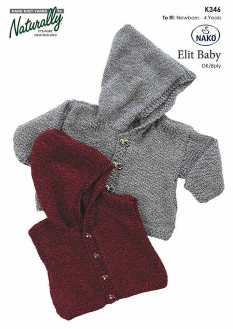 Naturally Elit Baby: Hooded Jacket or Vest