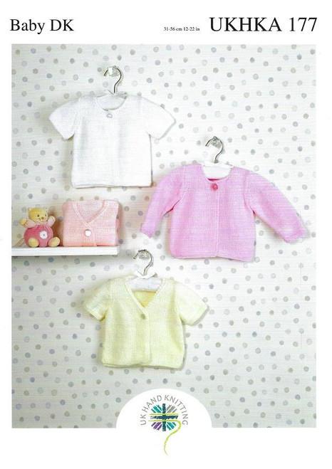 UKHKA: Baby Cardigans