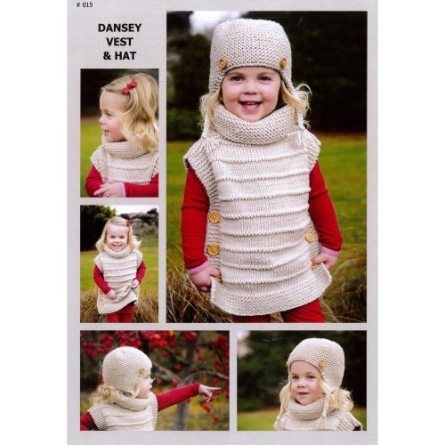 Touch Yarns: Dansey Vest & Hat