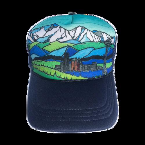 Flowfactory Classic- Seattle/Olympics Hat
