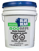 BLUE BEAR 500MR SOY BEAN MASTIC REMOVER 5 GAL (FORMERLY BEAN-E-DOO)
