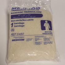 """TRIANGULAR BANDAGE W/PINS - 40"""" (102CM)"""