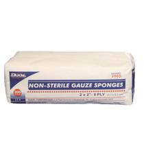 """GAUZE SPONGES NON-STERILE - 2"""" X 2"""" (5CM X 5CM) 200/PK"""
