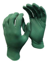 GREEN MONKEY NITRILE GLOVES 4 MIL LARGE (100/BX)